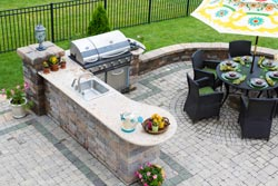 Boston MA outdoor bbq Granite kitchen - Toronto, ON MD Kitchen and Bath of Toronto